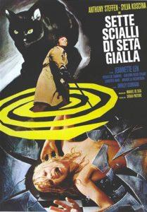 Sette scialli di seta gialla (1972) Cartel