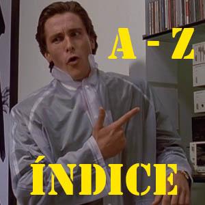 ÍNDICE A-Z