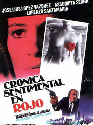 Crónica sentimental en rojo (1986)