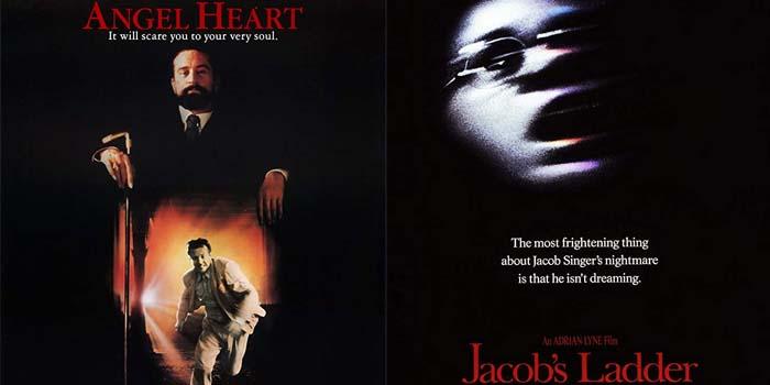 «Angel Heart» y «Jacob's Ladder» (Películas de sudar mucho)