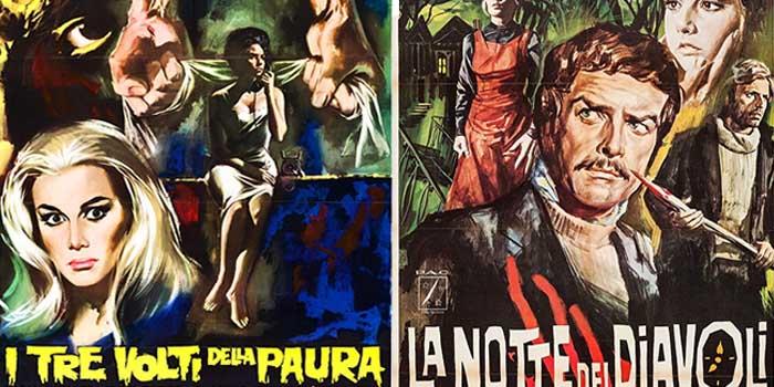 «Il Tri Volti della Paura» y «La Notte dei Diavoli» (La Familia del Wurdalak)
